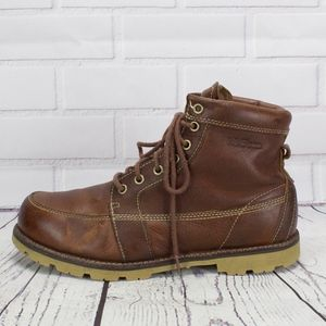 LL Bean Brown Leather Work Hiking Outdoor Boots 10